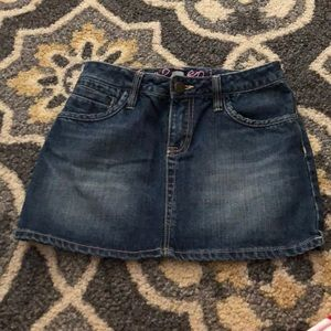 Girls Gapkids Jean Skirt